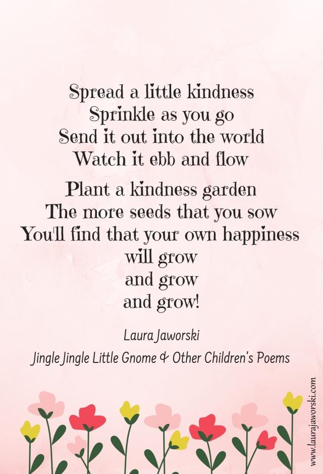 Kindness Poem Laura Jaworski